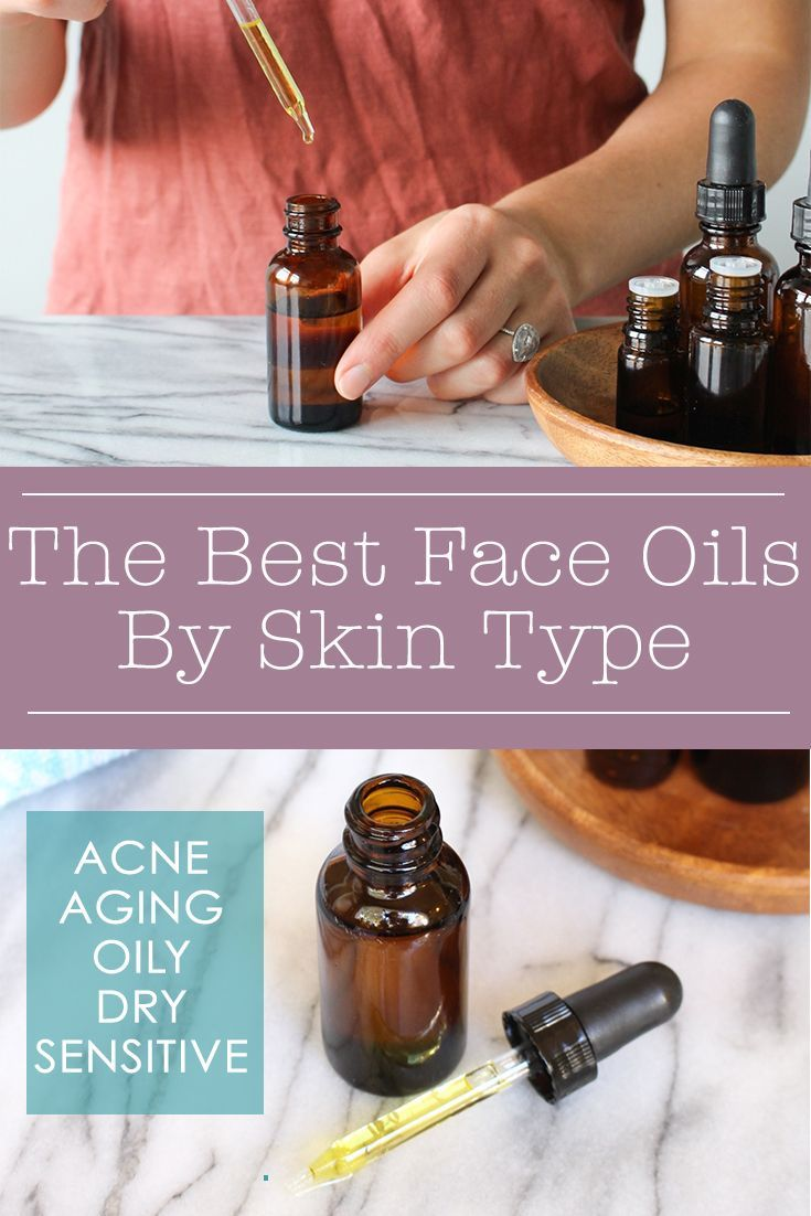 Face oils are amazing all-natural moisturizers (and can even be used to wash your face with the Oil Cleansing Method) BUT they're not one size fits all! Find the best face oil for you skin type.