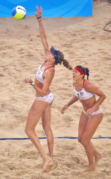 MISTY MAY-TREANOR & KERRI WALSH, #USA  Olympics #Olympics