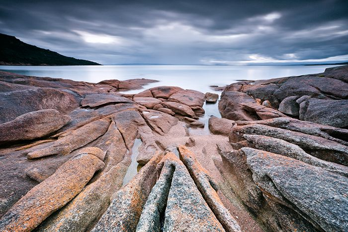Honeymoon Bay Freycinet National Park Tasmania Australia