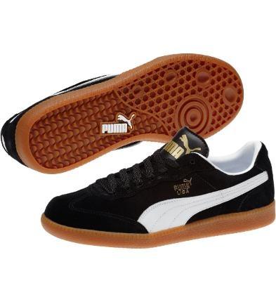Liga Suede Sneakers, black-white