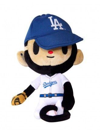 "tokidoki x MLB Dodgers 8"" Punkstar Maxx Plush"