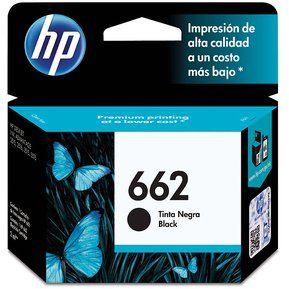 Cartucho HP 662-Negro