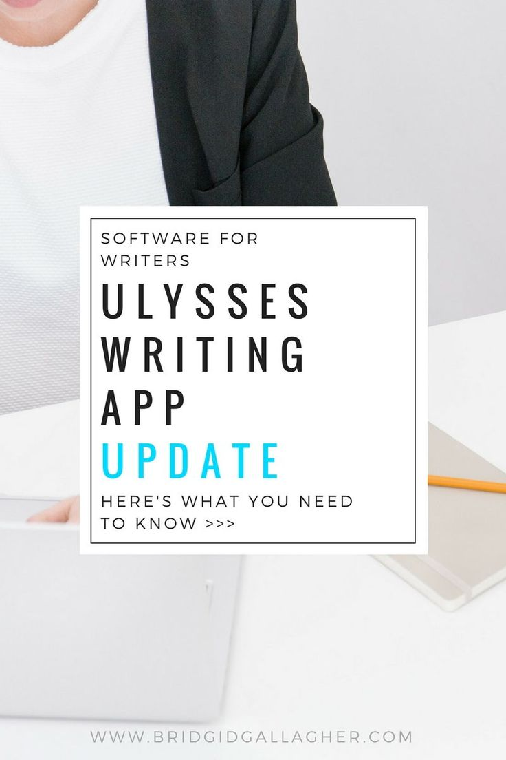 Ulysses Writing App is what I use to write and edit my books. It's a simple, streamlined, beautifully designed app. The top reason why I love using Ulysses is that it helps me stay focused on what's most important: writing books! Read the blog post to learn more >>>