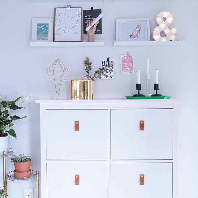 Ikea 'Ställ' shoe cabinet hack @hurmaavanvalkeaa