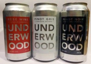 Union Wine Co.'s Underwood cans are a pleasant surprise. I did not notice a difference in taste between drinking the wines straight from the cans or from a glass. That's a good thing, because now you have another way that you can bring your wine anywhere and not worry about breaking a bottle, packing a corkscrew or washing a glass. - See more at: http://www.eatdrinkmadison.com/blog/?p=2823#sthash.6fh2lwJb.dpuf
