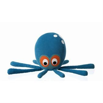 Octopus kudde - blå - Ferm Living