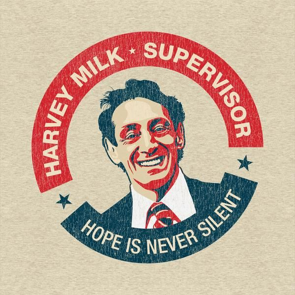 Harvey Milk T-Shirt #UnderRepped