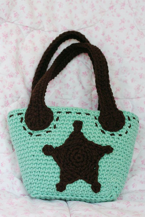 PDF Crochet Pattern for Little Girls Cowgirl Purse - Permission To S ...