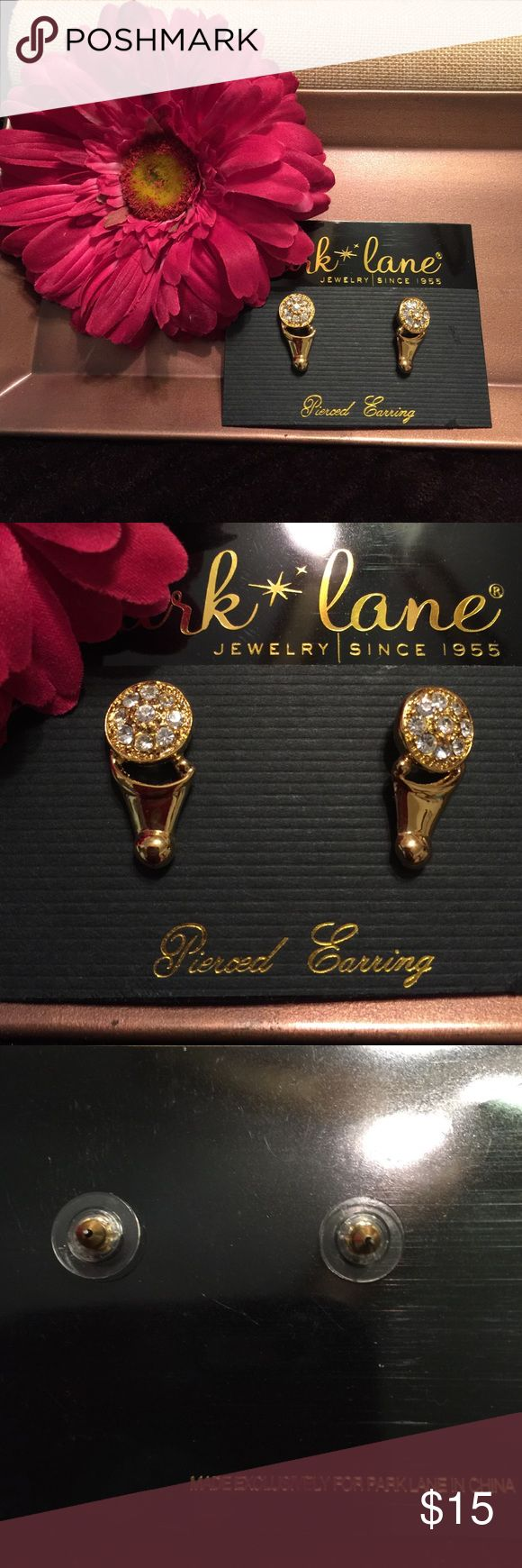 NEW Park Lane Earrings Gold and rhinestone earrings! NEW Park Lane Jewelry Earrings