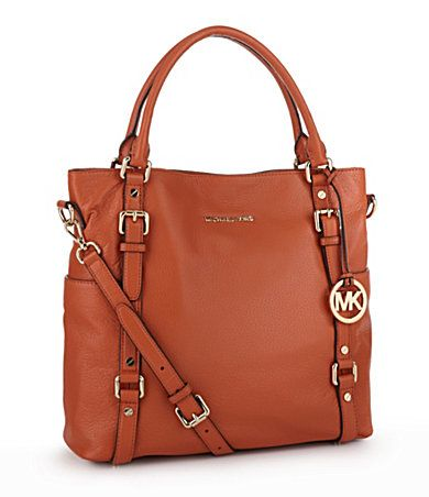 Michael Kors and burnt orange: Clothing Shoes Bags, Michael Michael, Burnt Orange, Kors Bags, Northsouth Totes, Large Totes, Tunes Michael Kors, Kors Bedford, Bedford Large