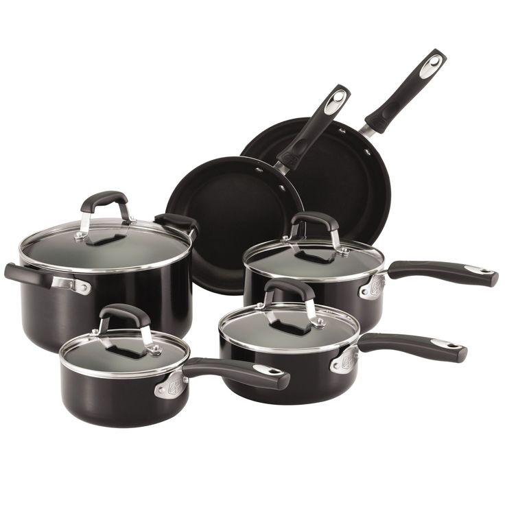 Guy Fieri Nonstick 10pc Cookware Set