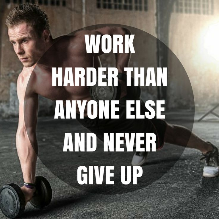 Work harder than anyone else and never give up. http://newestweightloss.com #weightloss #diet #weightlossmotivation #fitspo