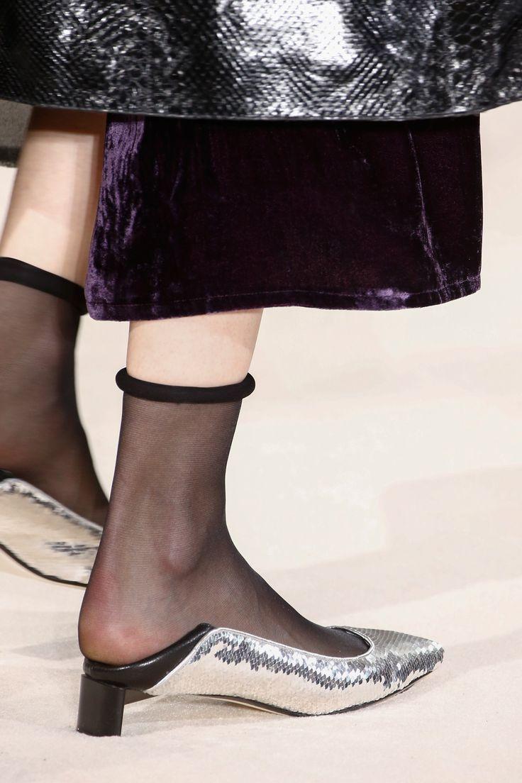 Silver Loewe shoes