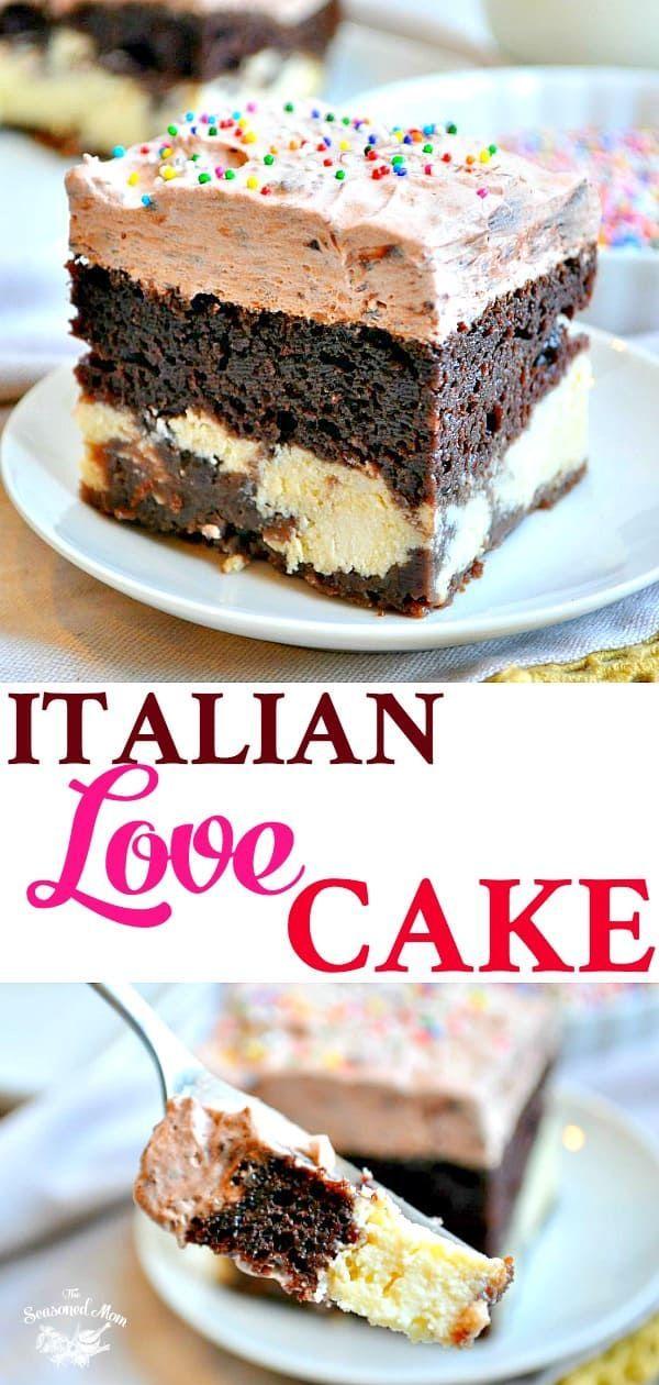 Easy Chocolate Italian Love Cake Recipe Love Cake Recipe