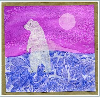 images of kid's polar bear art | It's equally good for introducing Arctic animals.