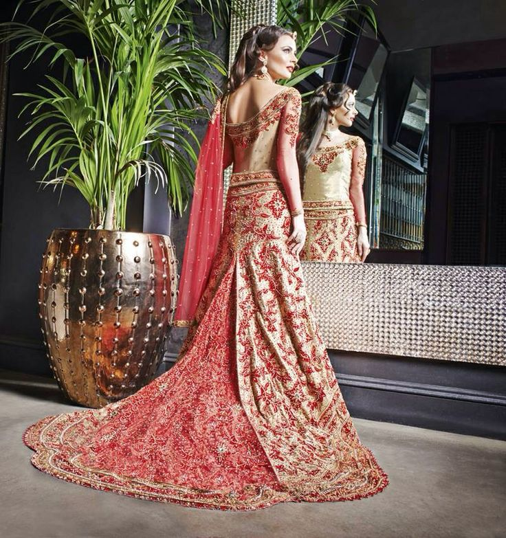 57 best Wedding sari/lengha images on Pinterest | Indian weddings ...