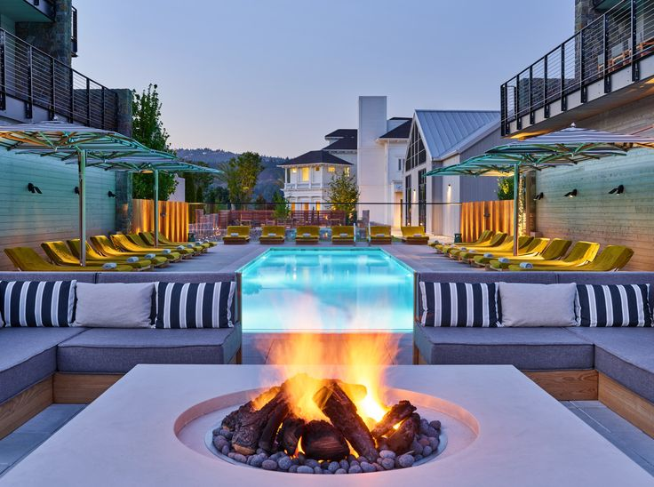 Reason #1 for a Napa Valley wedding? The ultra-luxe accommodations at Las Alcobas, a new Luxury Collection Hotel, in the heart of Napa.  #wedding #napavalley #sponsored