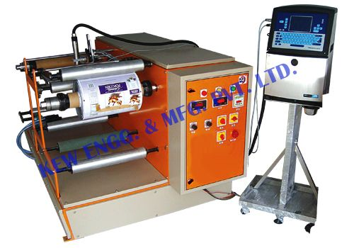We are manufacturer of Heavy Duty #Winding #Rewinding #Machine with quality equipment. Film Winding Rewinding For Batch Coding, Winding Rewinding For Batch Printing, Winding Rewinding With Inkjet Printer, Winding Rewinding With Thermal Transfer Overprinter. Winding Rewinding Machine for various industries.