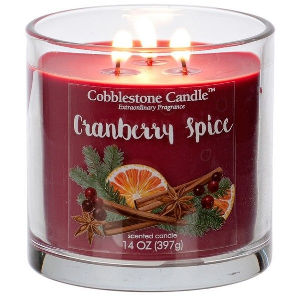 Cranberry Spice Jar Candle ($9.99) ❤ liked on Polyvore featuring home, home decor, candles & candleholders, wick candles, round candles, fragrance candles, citrus candles and scented candles