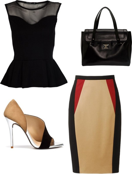 Love this outfit.: Outfit Idea, Idea Skirts, Fashion Styles, Simple Idea, Pencil Skirts Black, Party Idea, Work Outfit, Styles Putting, Cute Skirts