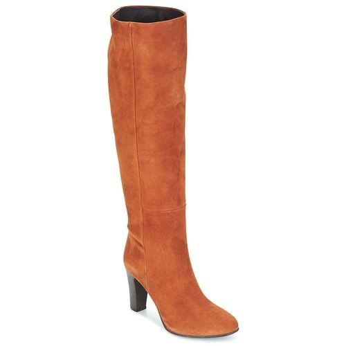 9e4814761de Chaussures Femme Bottes ville Jonak VERA Cognac