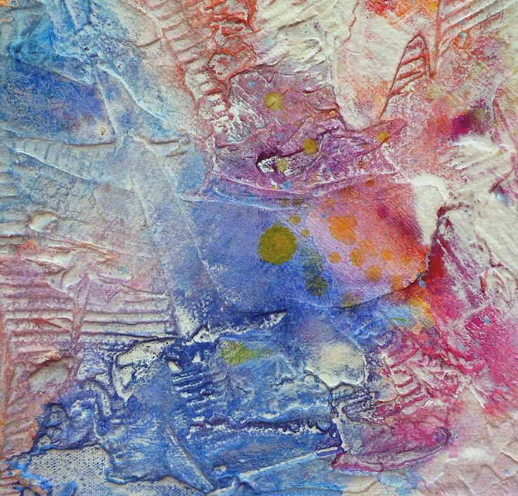 Abstract 8 by Tracy Bonin abstract art, abstract painting, canvas, texture, acrylic, mixed media, pink, blue, purple, orange, yellow, home decor, contemporary art, modern art
