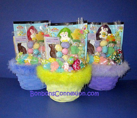 76 best easter baskets cadeaux pques images on pinterest paniers cadeaux de bonbons pour clbrer pques candy baskets to celebrate easter panierscadeauxbonbonspaques negle Images