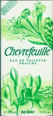 Fris, bloemig en groen is het parfum Chevrefeuille van Yves Rocher uit 1976. Iedereen die het boekje (met proefmonsters) van Yves Rocher thuis kreeg kent deze geur.