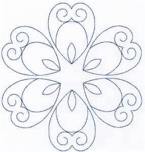 diseño circular floral