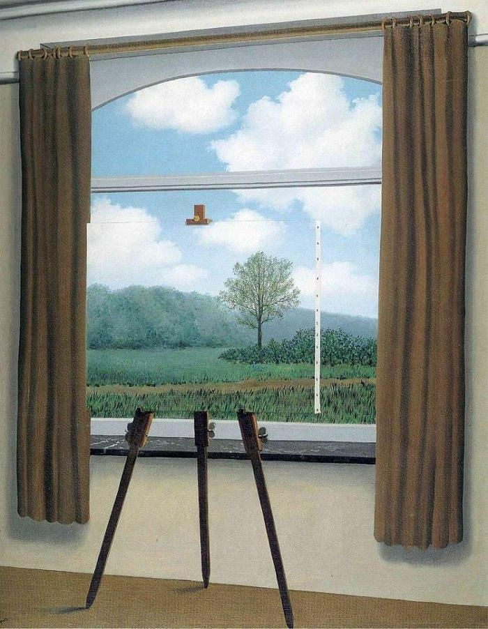 The Human Condition renee Magritte oil on canvass 1933