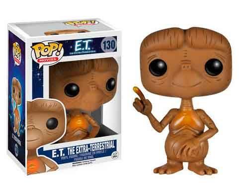 Cabezón E.T. El Extraterrestre. Funko POP Movies Cabezón creado por Funko del personaje creado por Steven Spielberg, ET el extraterrestre, para el film del mismo nombre de 1982.
