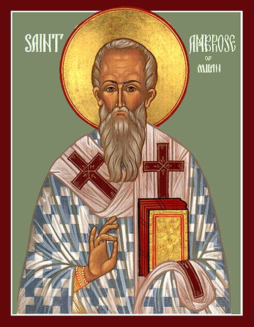 St Ambrose the Bishop of Milan - Orthodox Church in America