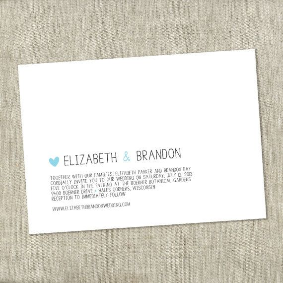 25 best Wedding Invitation images on Pinterest Wedding stationary - best of invitation wording lunch to follow