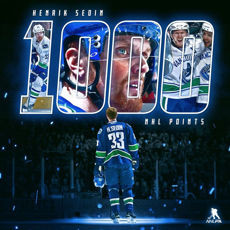File it under Sedinery. Henrik Sedin gets his wish, scoring his 1,000th @NHL point for the Canucks home crowd.