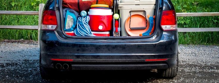 A family camping trip can be loads of fun but getting all your stuff into  the car and ready to go can be stressful. The key to fitting everything you  need into your vehicle (and finding it easily when you get to your  destination) is to take the time to plan beforehand and pack logically and  neatly.