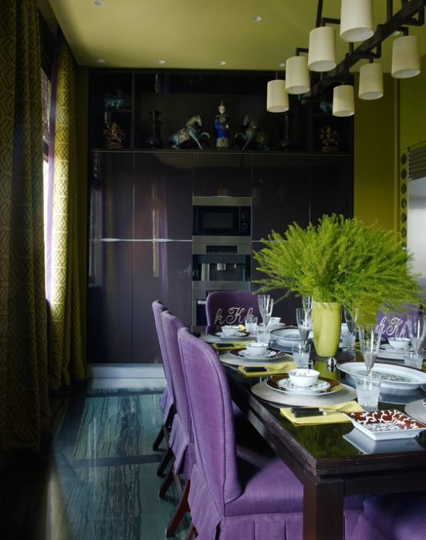 apartment-in-moscow-kirill-istomin. Loving the color palette.