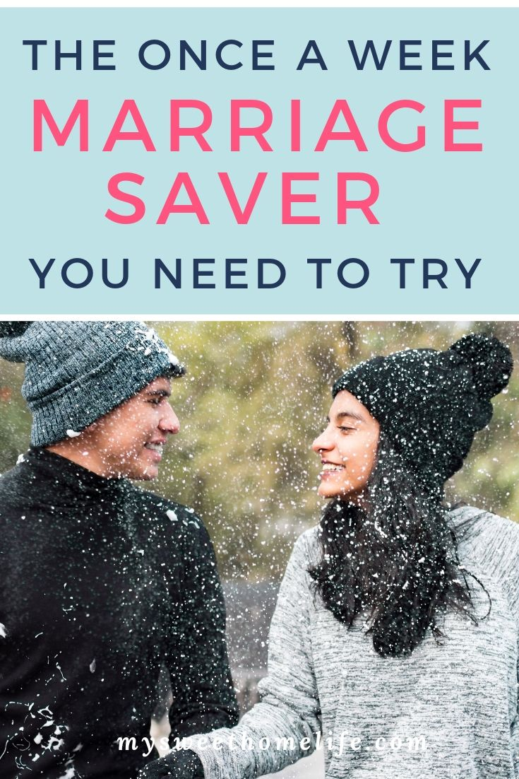 Have a healthy and happy marriage with the addition of a weekly relationship meeting. Review relationship goals, plan couple's bucket lists, and discu…