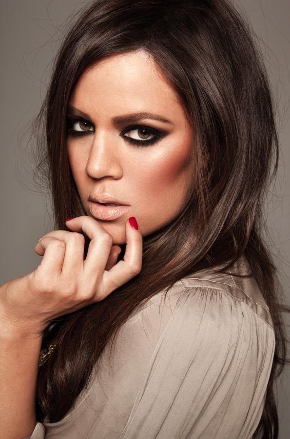 Khole Kardashian - makeup