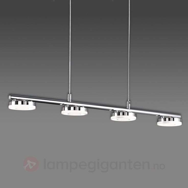 Briljant LED-hengelampe Rennes, firepunkts 8029011