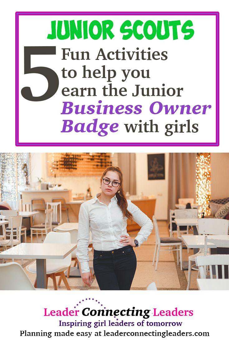 5 Fun Activities To Earn The Junior Business Owner Badge Junior