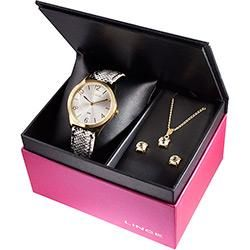 foto: Kit Relógio Feminino Lince Analógico Fashion LRC4301l K107S2GB