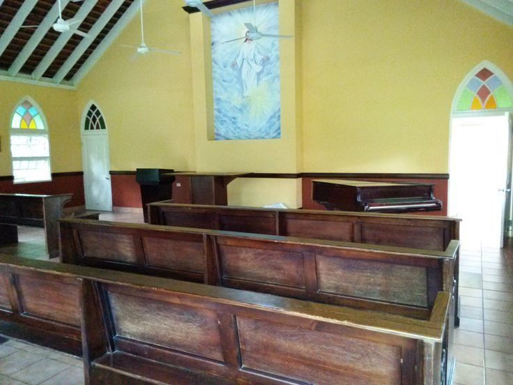 Inside the chapel at Sandals Montego Bay