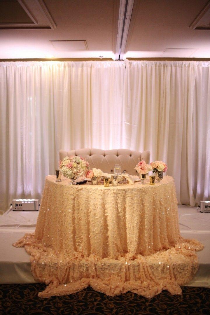 Chic romantic wedding from Adrienne Gunde Photography - wedding reception idea