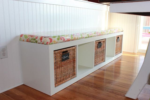 Ikea bench + cushion Style Pinterest
