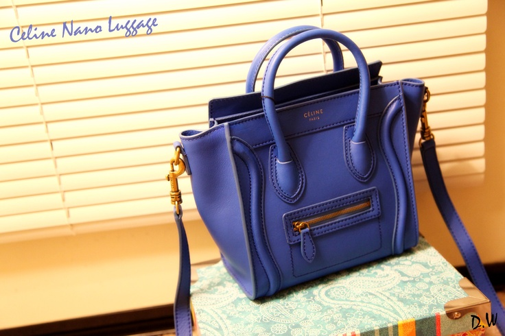celine pink purse - celine nano luggage in royal blue | Clutches \u0026amp; Smaller Bags ...