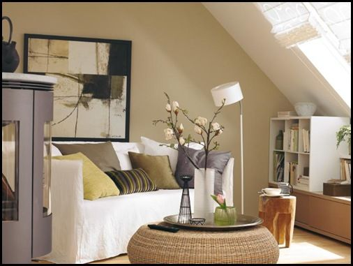 living in atticDachschräge Gestalten1, Decor Ideas, Mit Dachschrägen, Dachschrägen Gestalten, Wohnzimmer Mit, Redecorating Living, Living Room, Small Spaces, Interiors Ideas