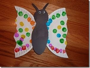 Butterfly and Bug crafts NOTE: We did the cover art butterfly and made the butterfly apple snack. The snack was gobbled up and the craft was age appropriate for 2 yrs old. Site is a keeper.