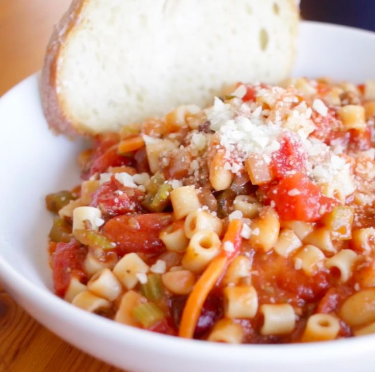 Authentic olive garden pasta fagioli recipe
