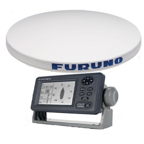 FURUNO FUR-SC50 / 26 Dome Ant 4.5 Mono Disp Sat Cmpss. Satellite compass MFG SC50 Highly accurate GPS WAAS Data for SOG COG ROT roll & pitch info and LL. 4.5 mono display and 26 dome w 3 GPS antennas.