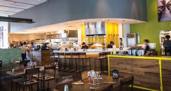 Low Wall And Soffits House Of Leonard Restaurants Pinterest Pizza Division And Pizza Kitchen